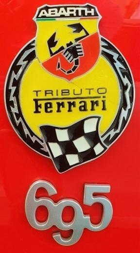 ABARTH ABARTH 695 1.4 TRIBUTO FERRARI 3DR 2014 Red